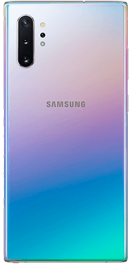 Samsung Galaxy Note10+ Aura Glow back