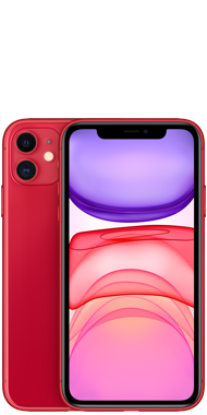 iPhone 11 red front