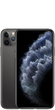 iPhone 11 Pro Max Space Grey Front