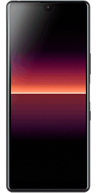 Sony Xperia L4 black front