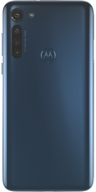 Motorola G8 Power blue back