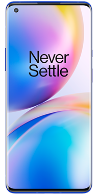 OnePlus 8 pro blue front