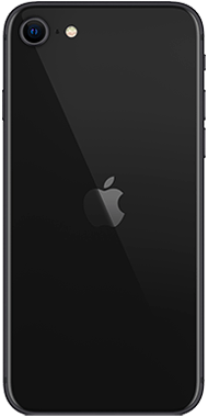 Apple iPhone SE 2020 black back