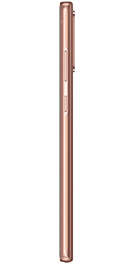 Samsung Galaxy Note20 bronze side