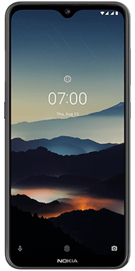 Nokia 7.2 Charcoal front
