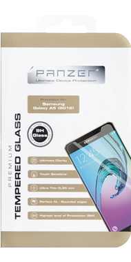 Panzer Temp. Glass til Samsung Galaxy A5