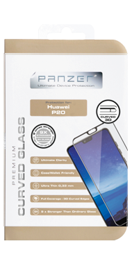 Panzer Curved Glass til P20