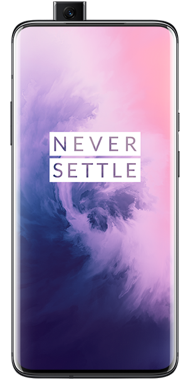 OnePlus 7 Pro mirror gray front