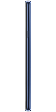 Samsung Galaxy Note9 side blue
