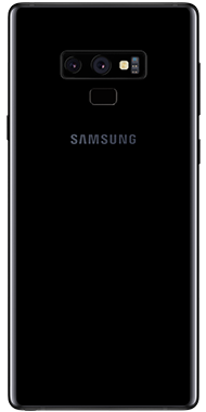 Samsung Galaxy Note9 back sort