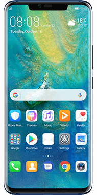 Huawei Mate 20 Pro Blue front