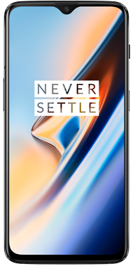OnePlus 6T Midnight Black front