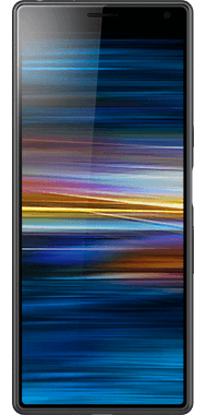 Sony Xperia 10 Front Black
