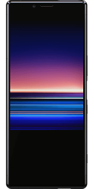 Sony Xperia 1 Sort front